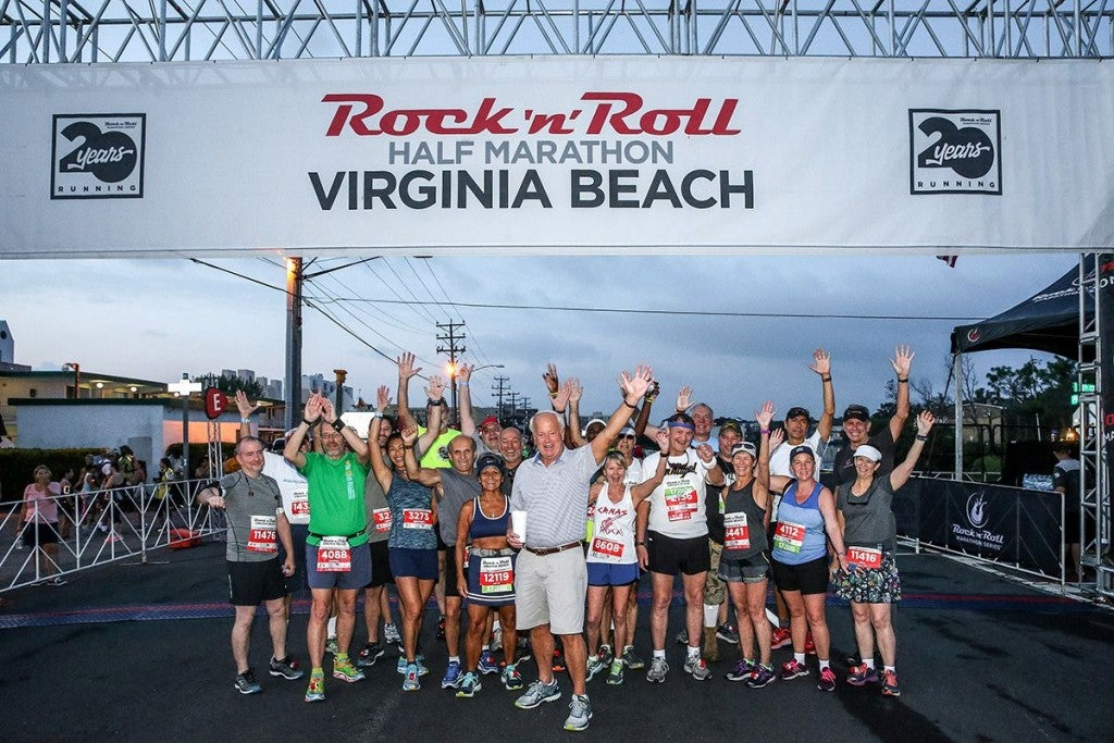 Racers At Rock N Roll Virginia Beach