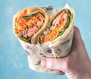 Take Lunch To Go With These Wraps