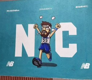 5 Murals Created For The TCS NYC Marathon