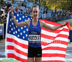 Molly Huddle Wins USATF 5K In NYC
