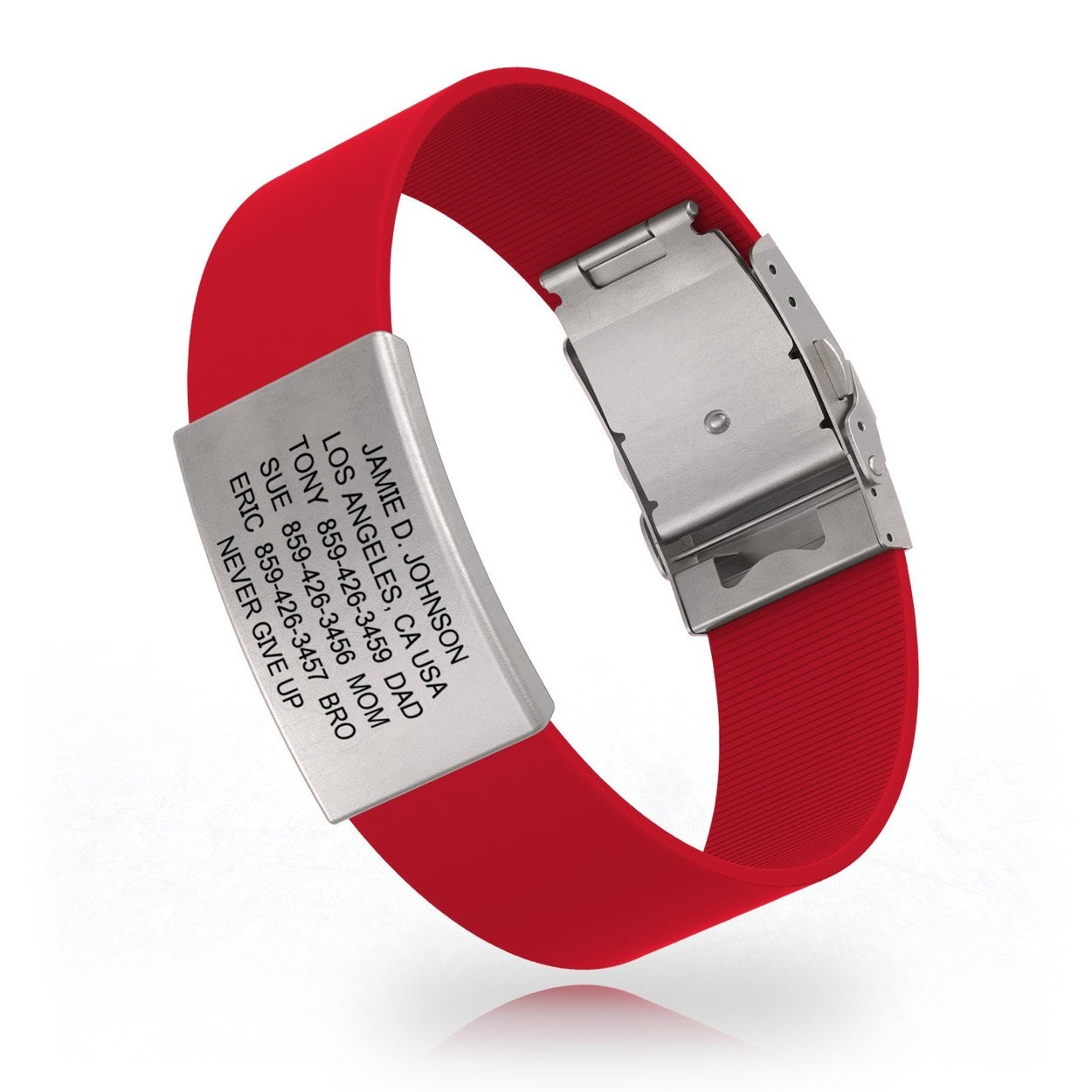 Road ID Safety Identification Band