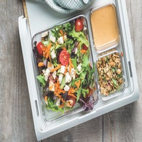 Make Your Portable PB&J Healthier With This Salad Twist