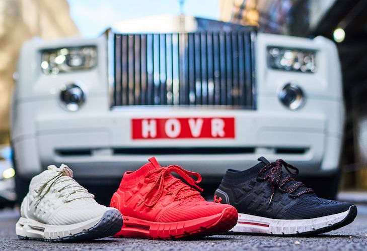 premium selection e28c7 dceb5 Under Armour Launches UA HOVR Tech With 2 New Shoes