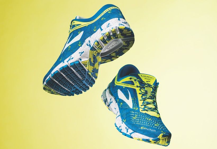 26e37954720 Luck Of The Lobster. Brooks  tradition of releasing a limited-edition shoe  for the Boston Marathon ...