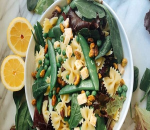 Protein-Packed Spring Pea Pasta Salad Recipe