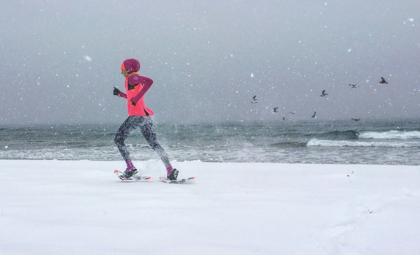 Kick Up Some Snow This Winter With Snowshoe Running