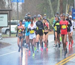 Photos: 2018 Boston Marathon Elite Women's Race