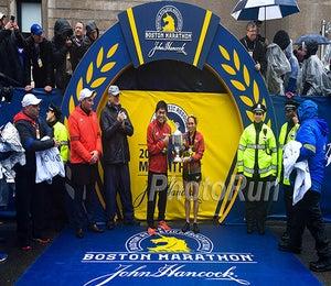 Photos From The 2018 Boston Marathon
