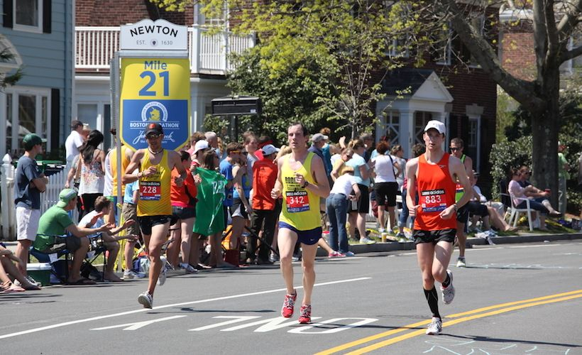 What To Expect From The Boston Marathon's Infamous Newton Hills