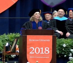Kathrine Switzer's 2018 Commencement Address