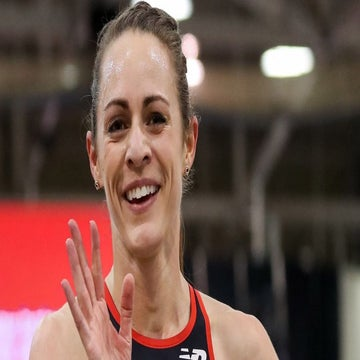 Jenny Simpson Discusses Breaking Outdoor 2-Mile American Record