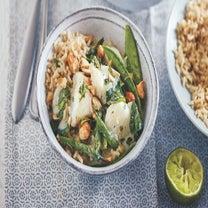 Quick Thai Green Fish Curry Recipe