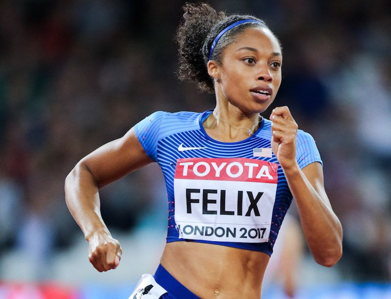 Meet The Elite: Our Q&A With Allyson Felix