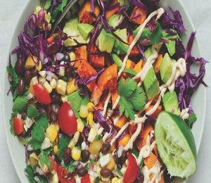 Naked Taco Bowl Recipe From Simply Vibrant