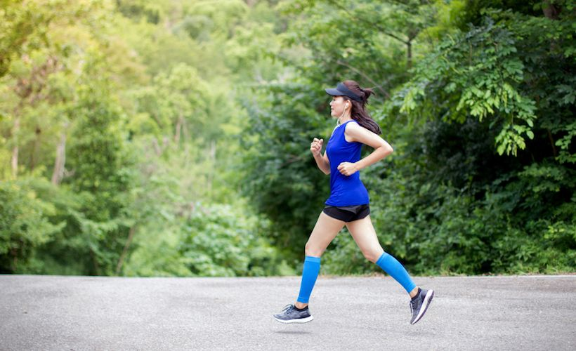 Tackle Your First 5K With This Training Workout
