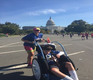 My Experience As A Race-Day Wheelchair Pusher