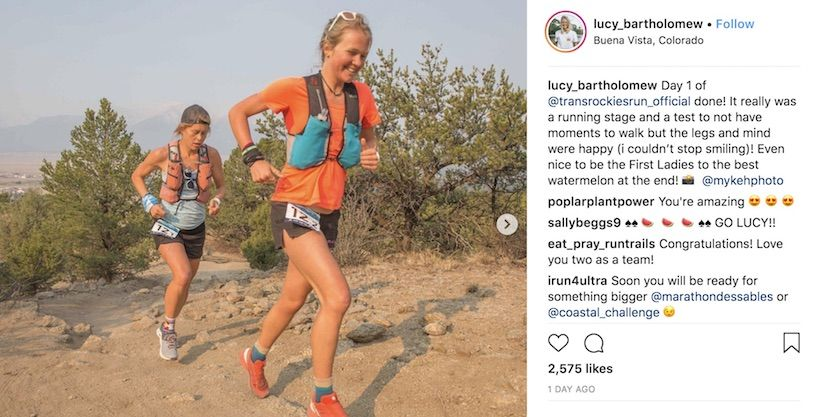 Q&A With TransRockies Competitor Lucy Bartholomew