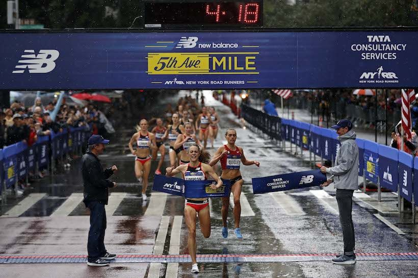 Jenny Simpson Scores Another 5th Avenue Mile Victory