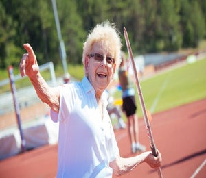 Running Keeps 94-Year-Old Ana McGowan Inspired