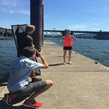 Behind The Scenes: Gwen Jorgensen Cover Shoot