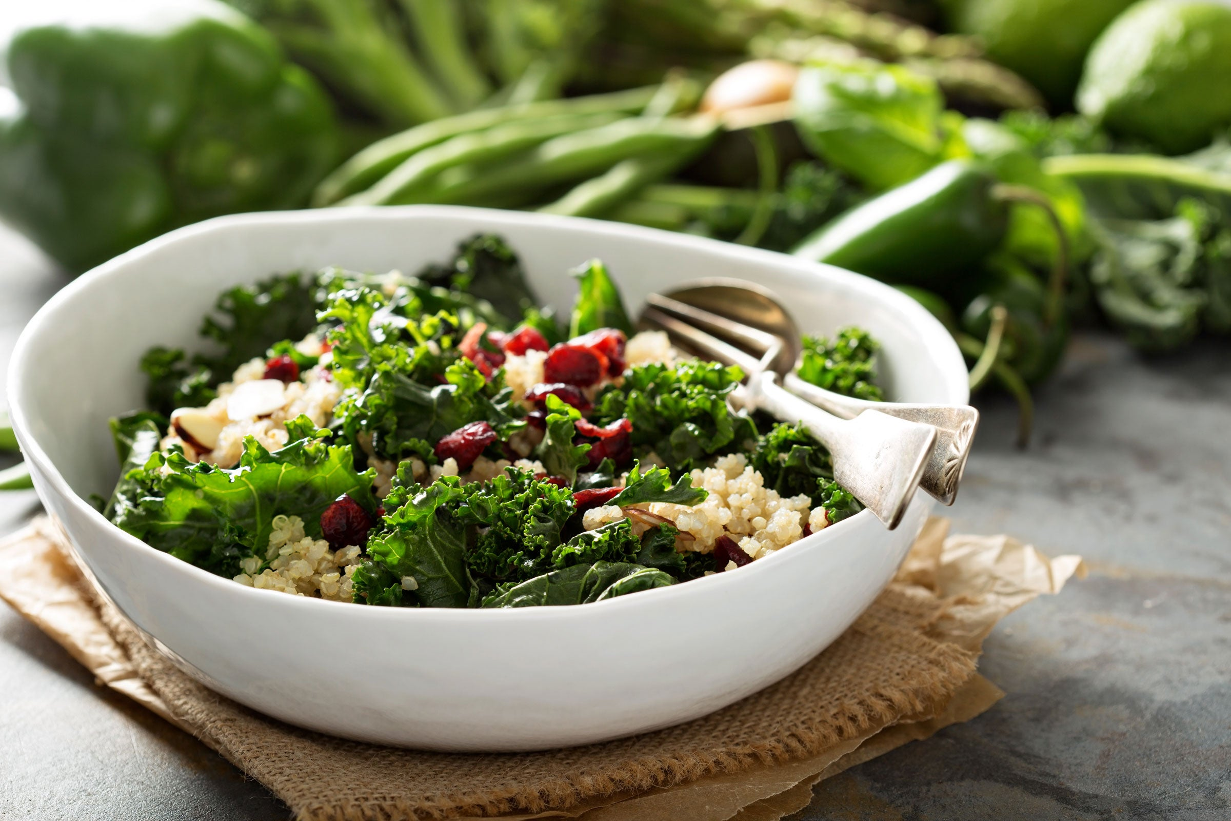 Quinoa Salad Recipe with Cherries, Walnuts, and Feta