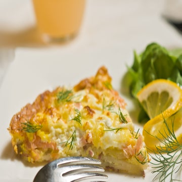 Smoked Salmon Frittatas Recipe