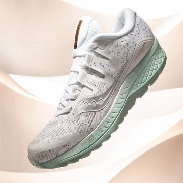"Shoe Of The Moment: Saucony ""White Noise"" Ride ISO"