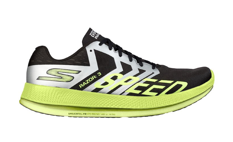 "afc4561d Skechers' New ""Hyper Burst"" Foam Makes Racers Light And Fast"