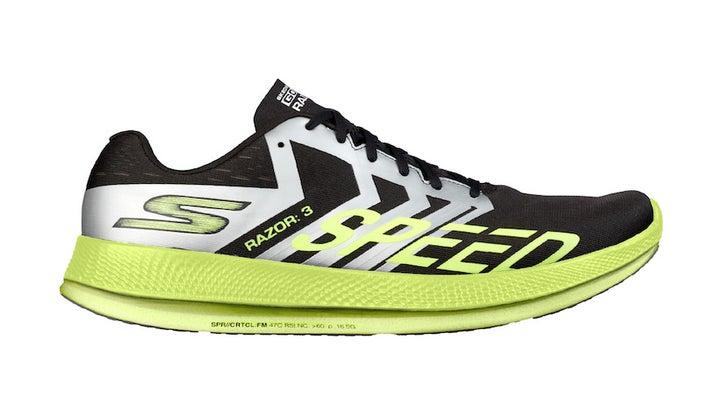 """Skechers' New """"Hyper Burst"""" Foam Makes Racers Light And Fast"""