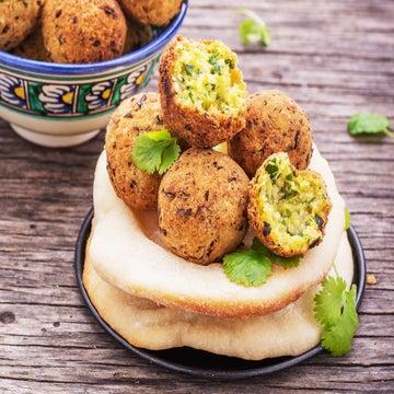 Falafel Cakes Recipe