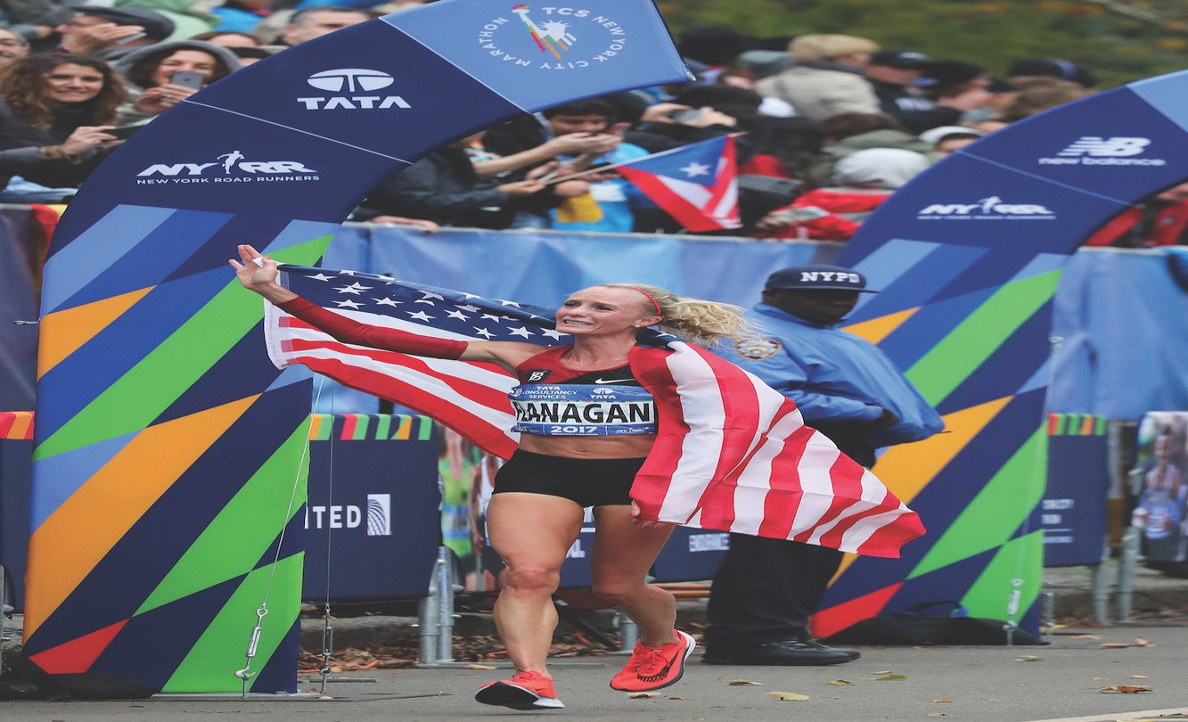 Shalane Flanagan's Spring Goals: Acing TV Commentary, Coaching, and Family