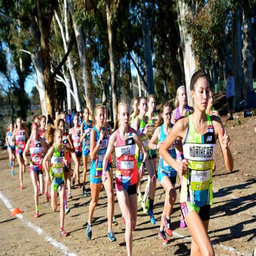 Photos: The XC Championships Ended In A Sprint To The Finish