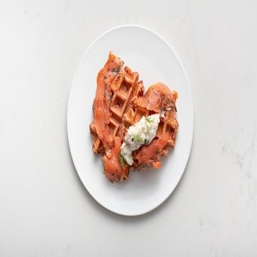 You Won't Miss A Beet With These Waffles