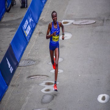 After Placing Second at the Boston Marathon, Edna Kiplagat Keeps Going