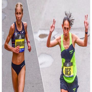 Linden and Hasay Use Teamwork to Crack the Top 5 at Boston
