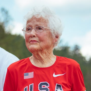 103-Year-Old Julia Hawkins is a Gold Medalist Again