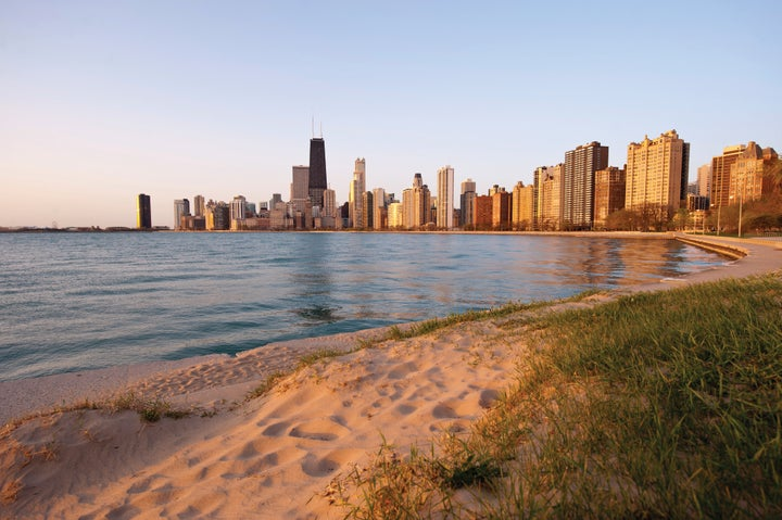 For an urban beach run, Chicago's lakefront is best.
