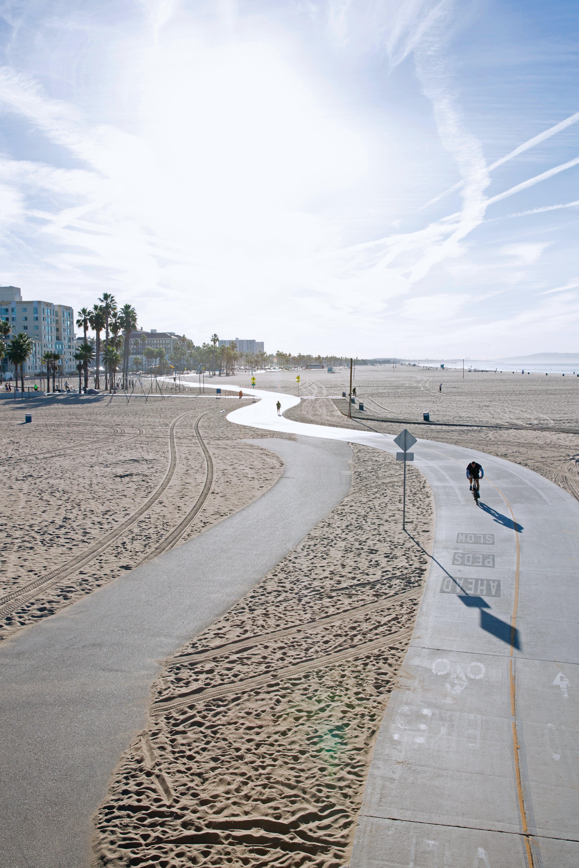 The Santa Monica Marvin Braude Bike Trail