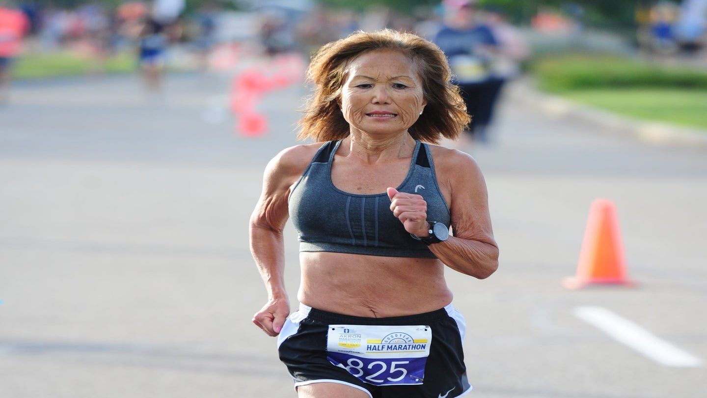 Advice for Runners of All Ages From a 71-Year-Old World-Record Holder