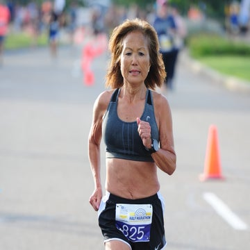At 71, Jeannie Rice Runs World-Record Half Marathon