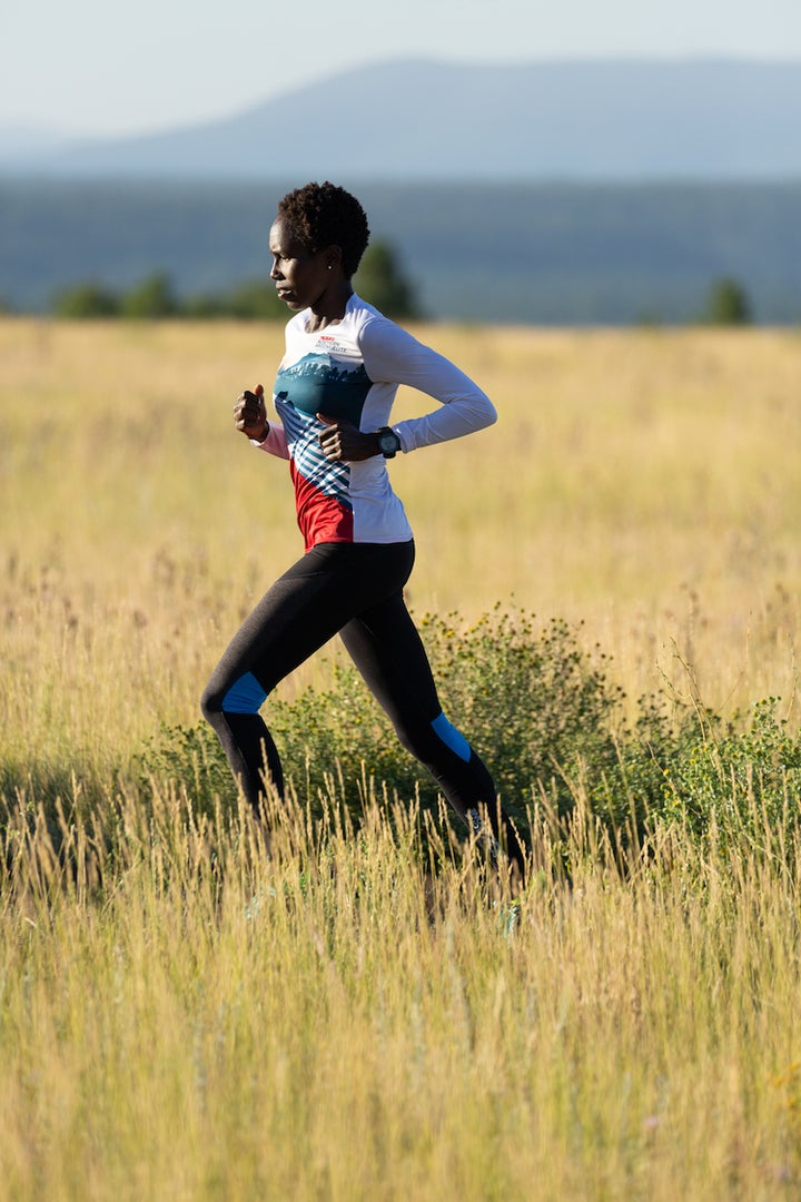 PHOTO: James Q. Martin Aliphine Tuliamuk is coming back from injury on her way to the 2019 New York City Marathon.