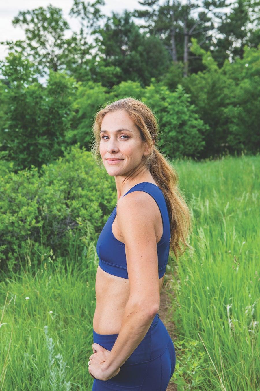 Kara Goucher trail running