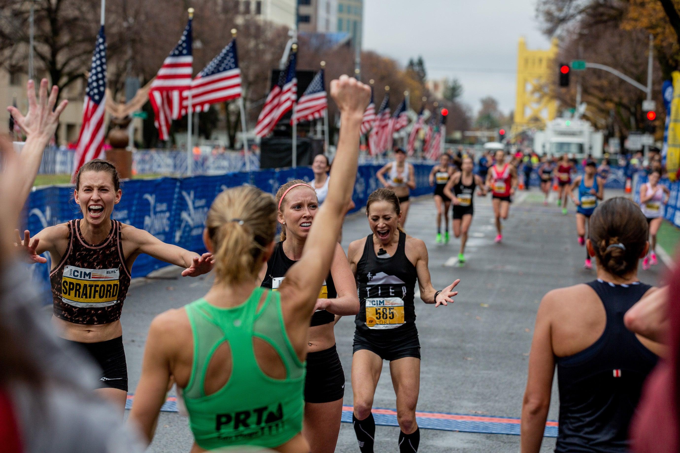 Runners qualify for the 2020 Olympic Marathon Trials at the 2019 California International Marathon.