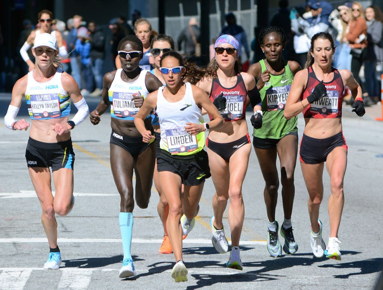 Leaders 2020 Olympic Marathon Trials