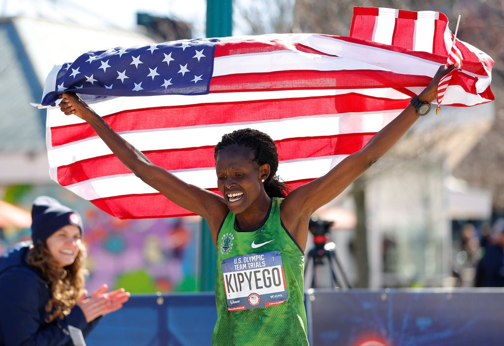 Sally Kipyego third at 2020 U.S. Olympic Marathon Trials