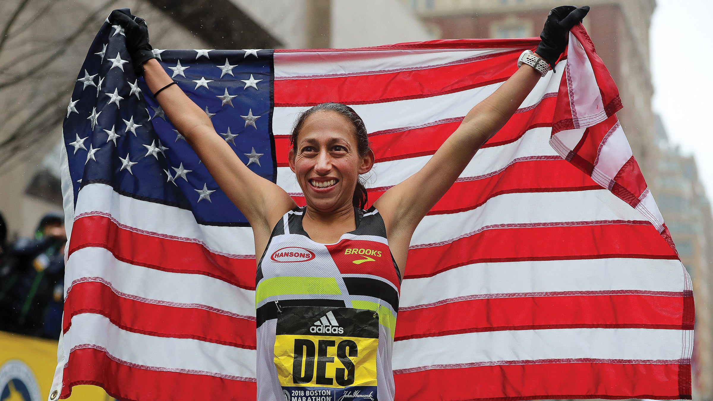 Des Linden wins Boston Marathon 2018