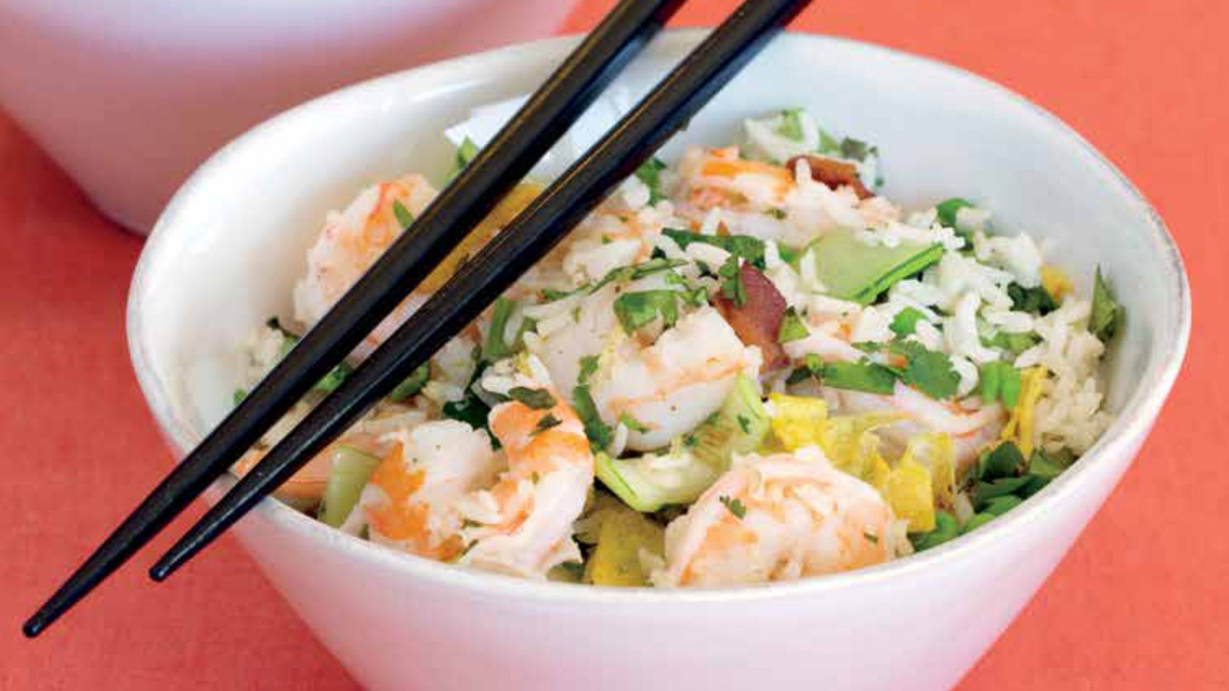 Try This Fried Rice with Shrimp Recipe After Your Next Workout