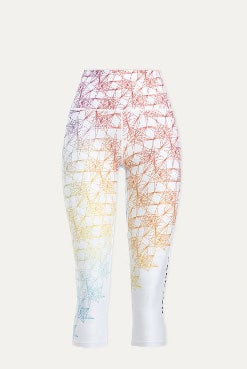 peloton pride capri leggings