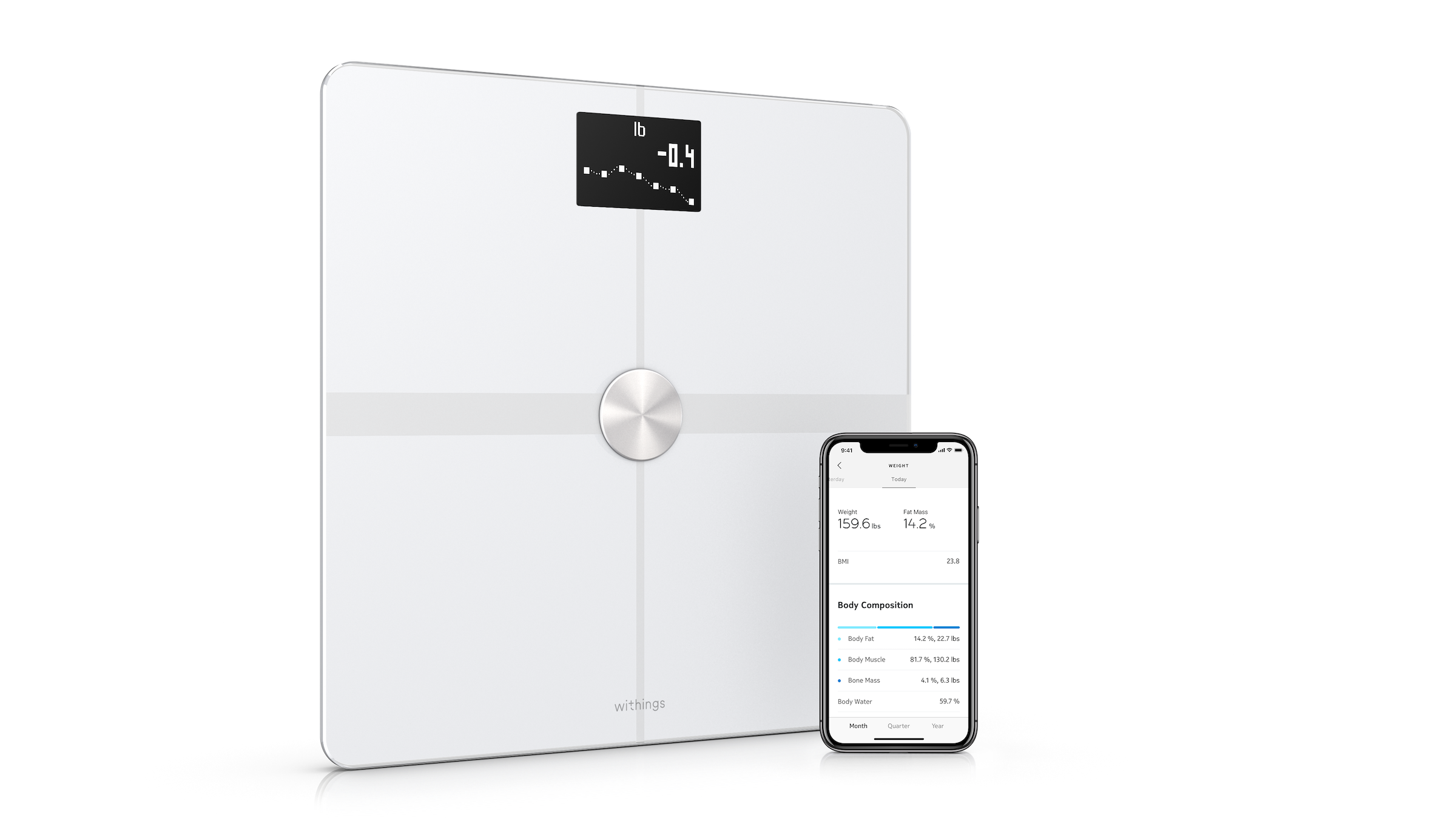 Withings body composition body weight scale