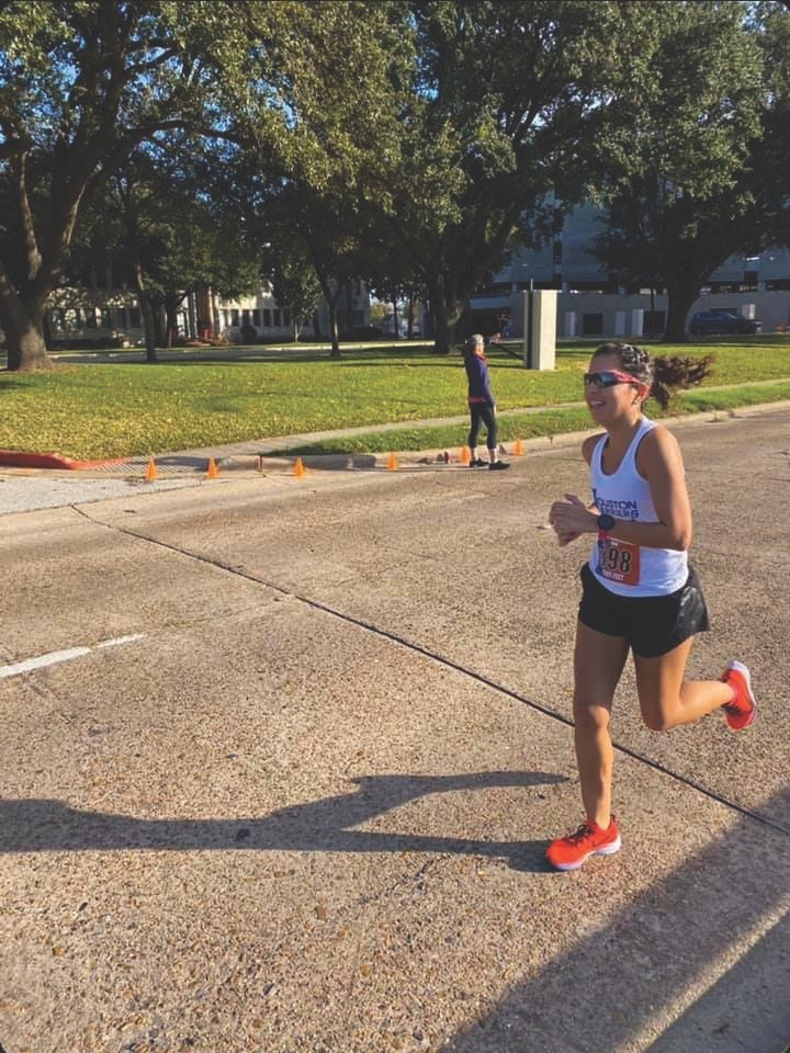 Emilia Benton learned about burnout through running.